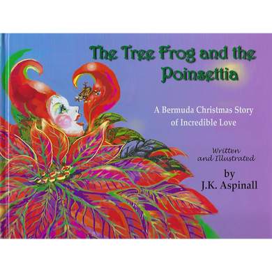 Book: The Tree Frog and the Poinsettia - Hand Made (Bermuda)