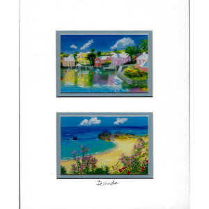 "Print: Matted 8""x10"" - Hand Made (Bermuda)"