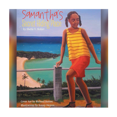 Book: Samantha's Secret Hiding Place - Hand Made (Bermuda) Ltd