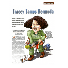 Load image into Gallery viewer, Book: Tea with Tracey (The Woman's Survival Guide to Bermuda) - Hand Made (Bermuda) Ltd