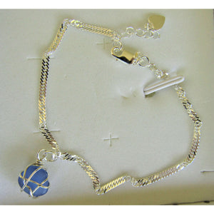 Anklets: Bermuda Sea Glass - Hand Made (Bermuda) Ltd
