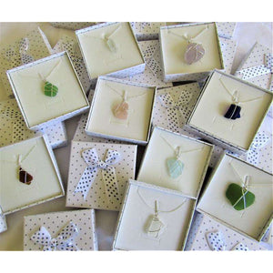 Necklaces: Bermuda Sea Glass - Hand Made (Bermuda)