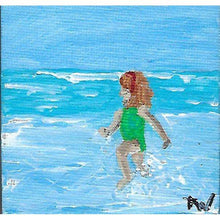 "Load image into Gallery viewer, Painting: Canvas 3""x3"" - Hand Made (Bermuda) Ltd"