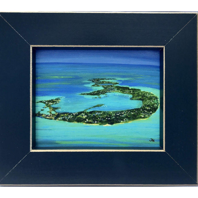 Print: Framed (Canvas) 5.875