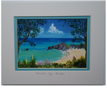 "Load image into Gallery viewer, Print: Matted 8""x10"" - Hand Made (Bermuda)"