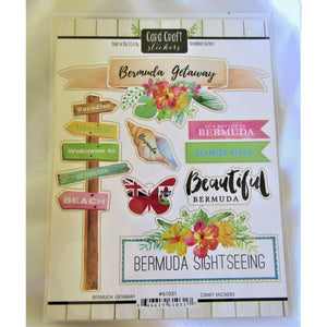 Scrapbooking: Stickers - Hand Made (Bermuda)