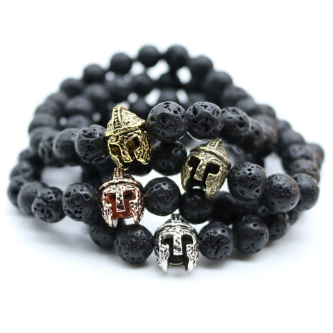 Bracelet - Antique 古董™ | Lava stone mineral