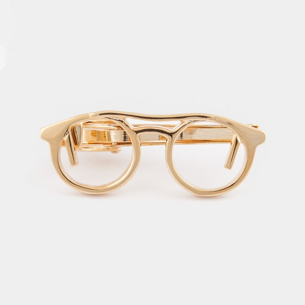 The Gold Specs Tie Bar