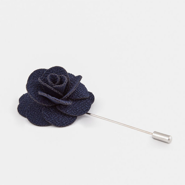 Navy Blue Lapel Design R