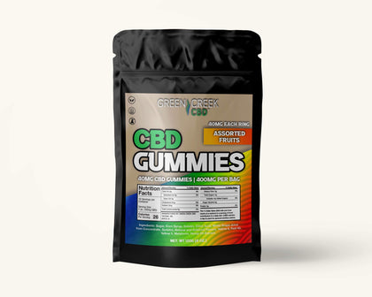 *NEW* 400mg CBD Gummies (40mg per Gummy)
