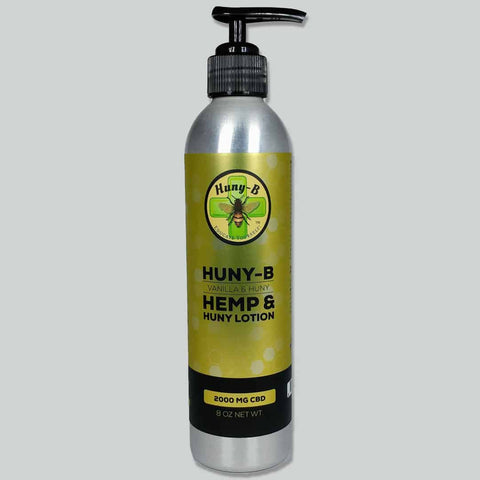 Huny-B Hemp & Huny Lotion--2000 mg CBD