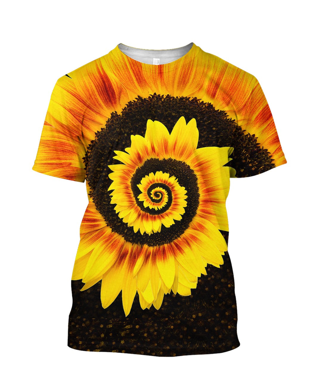 TWISTED TORNADO SUNGLOWER 3D FULL PRINTED T-SHIRT - Wonder Hippie Official