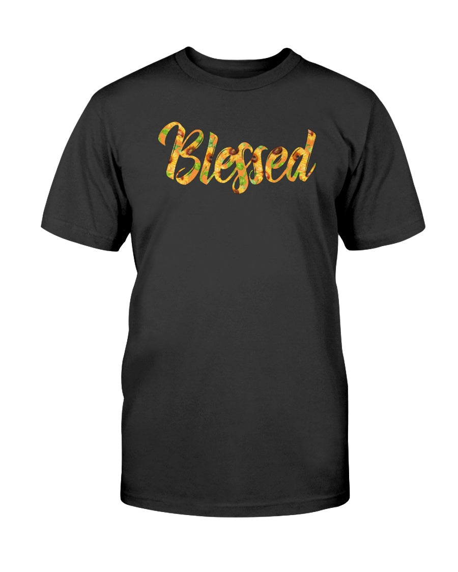 Sunflower Jesus Blessed Faith T-shirt