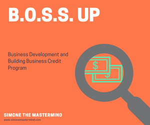 Business Development (business credit only)