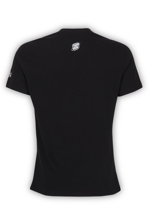 CAMISETA NEGRA ESSENTIALS BOX LOGO  YATRA - YATRA
