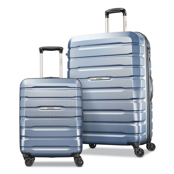 Samsonite Tech-1 Hardside Suitcase 2 Piece Set in Blue