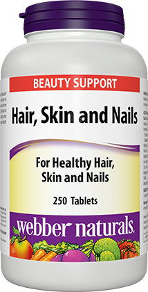 Webber Naturals Hair, Skin & Nails Tablets 250 count