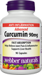 Webber Naturals Advanced Curcumin 90mg 90 Capsules