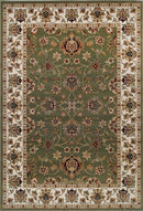 Oxford Green and Cream Oriental Rug