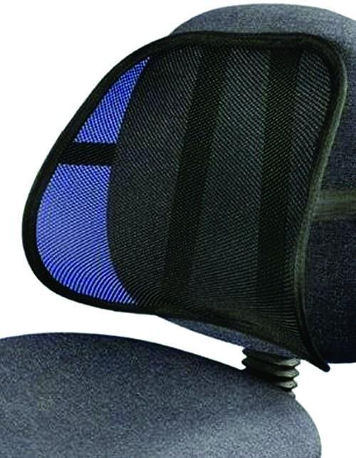 Universal Mesh Back Support - BLACK