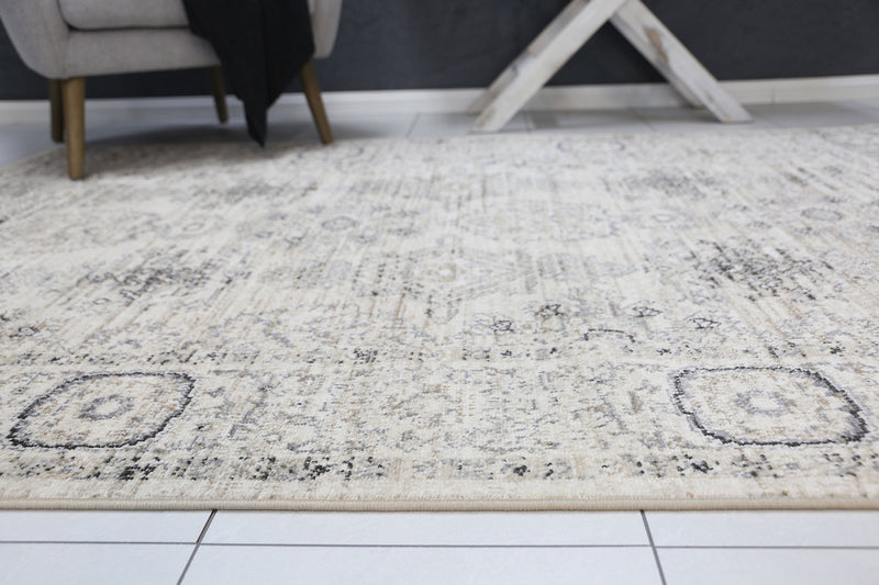 Arya Cream ZieglerTraditional Ikat Rug