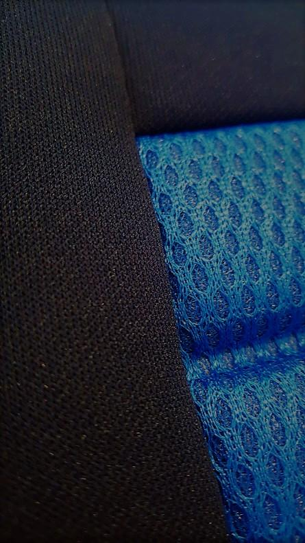 Universal Ice Mesh Front Seat Covers Size 30/35 - Blue