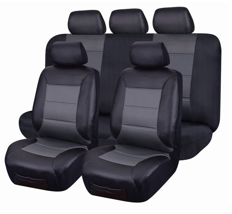 Tailor Made El Toro Series II Seat Covers for HOLDEN CAPTIVA CG 4X4 SUV/WAGON GREY
