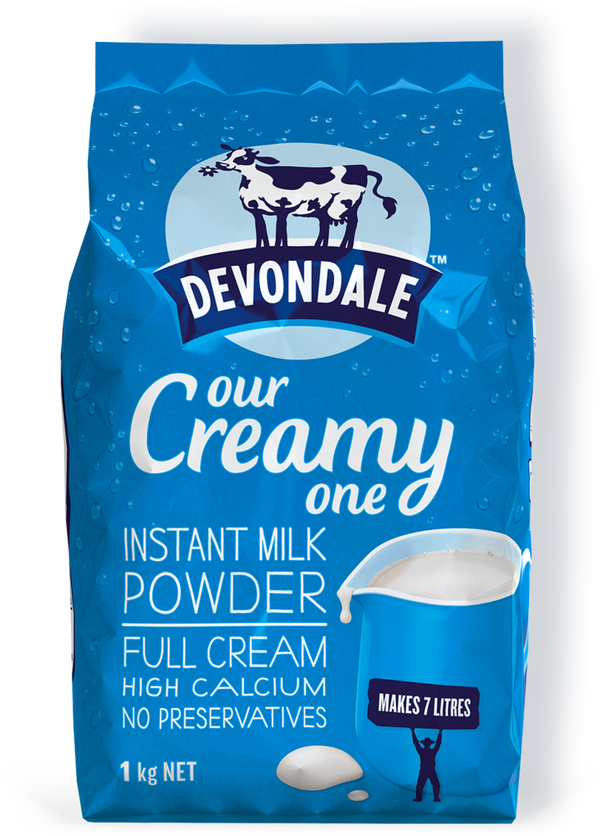 Devondale-Instant Full Cream Milk Powder 1kg
