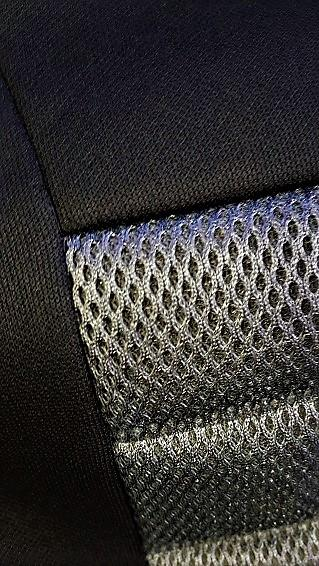 Universal Ice Mesh Front Seat Covers Size 30/35 - Grey
