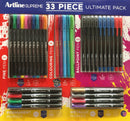 Artline Supreme Writing Ultimate Pack 33 Pieces
