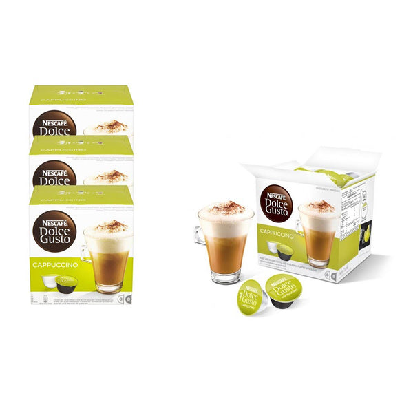 Nescafe Dolce Gusto Cappuccino Coffee Capsules 48 Pack