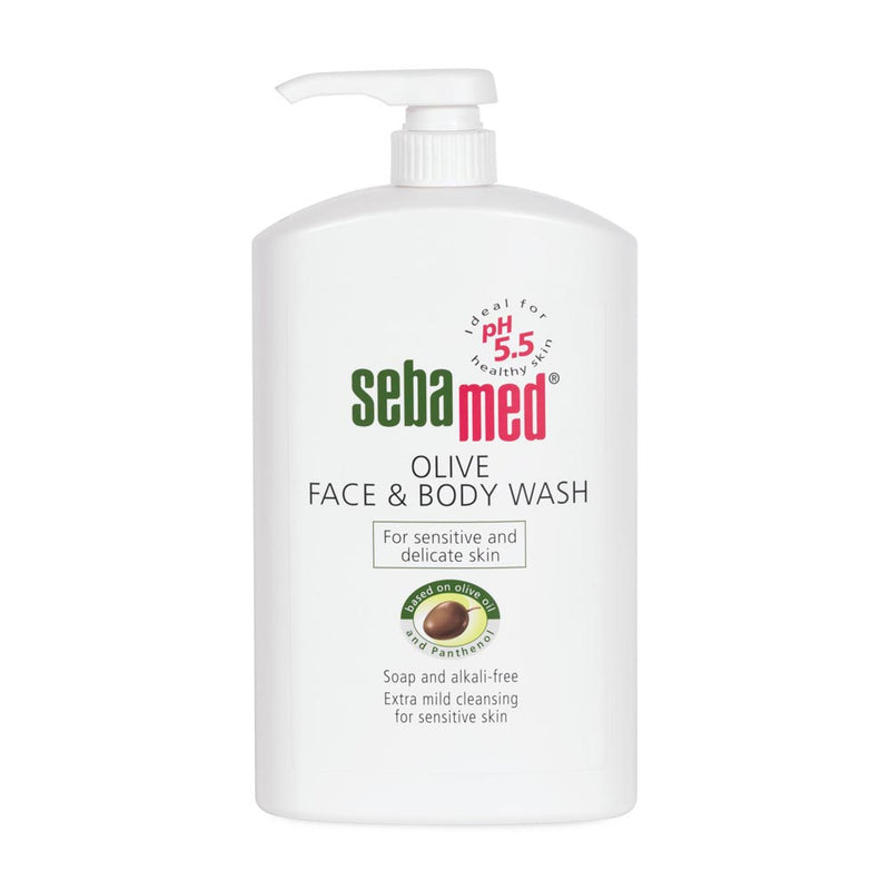 Sebamed Olive Face & Body Wash 1L