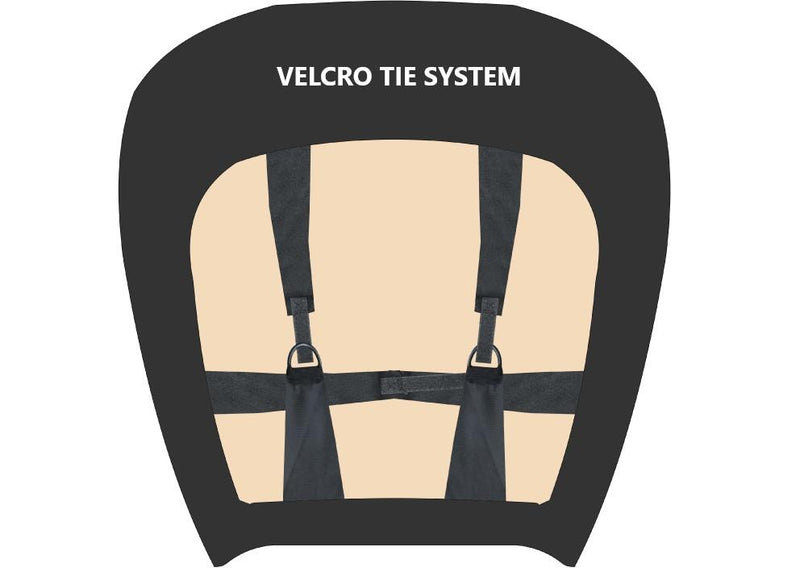 Tailor Made Challenger II Seat Covers for MITSUBISHI TRITON MQ-MR SERIES 01/2015-ON DUAL/CLUB CAB UTILITY BLACK