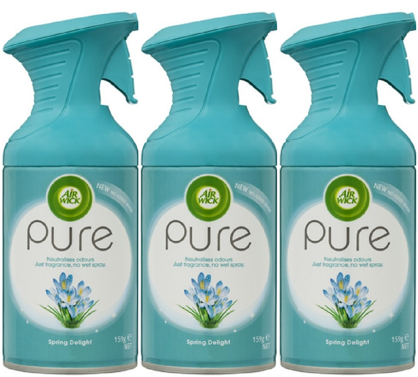 Airwick Pure Air Freshener 3 X 159g