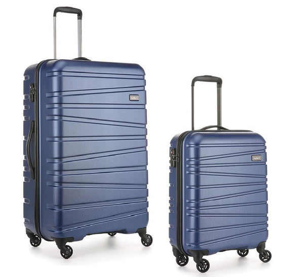 Sonar Antler Exclusive 2 Piece Suitcase Set Large and Cabin / Navy