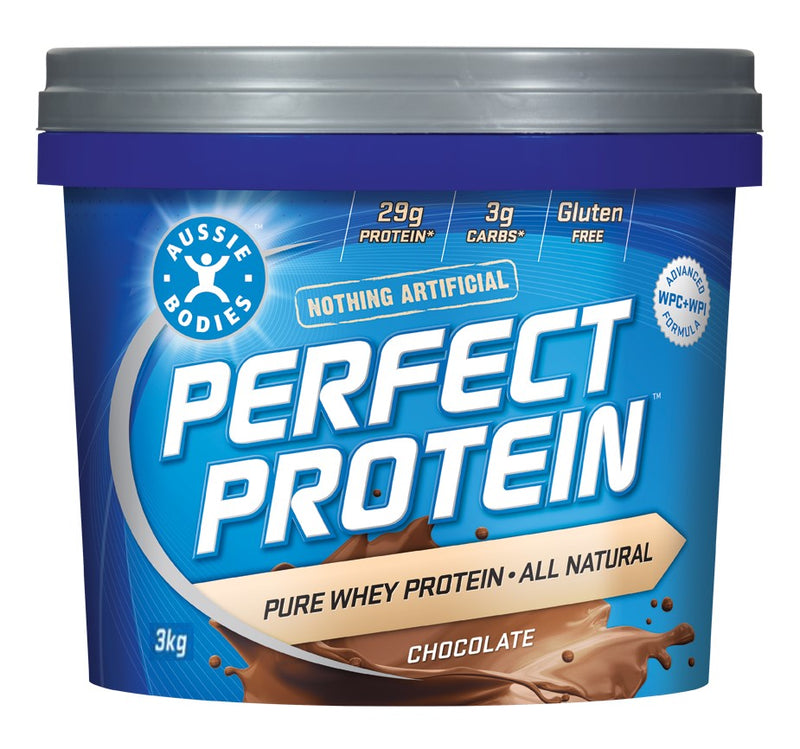 Aussie Bodies Perfect Protein Powder - Chocolate 3kg