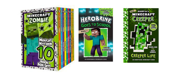 Zack Zombie 10 Book Set + 2 Additional Titles