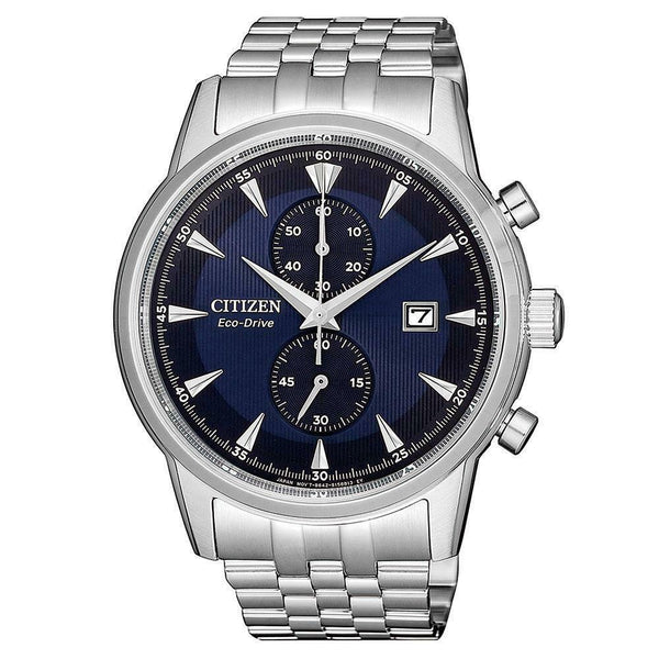 Citizen Gents Chronograph Eco-Drive Stainless Steel Watch - CA7001-87L