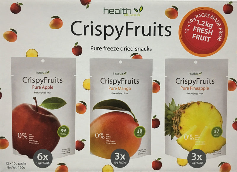 Health Attack Crispy Fruits Multibox 12 x 10g