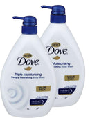 Dove Body Wash Triple Moisturising 2 x 1L