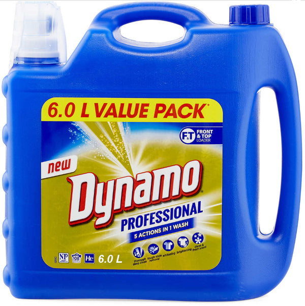 Dynamo Professional 5 Actions in 1 Laundry Detergent 6L