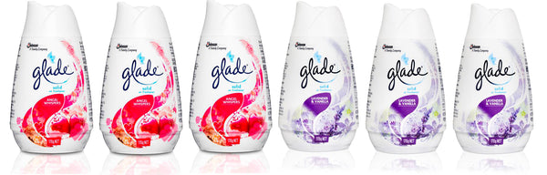 Scented Glade Gel Air Freshener 6 x 170g