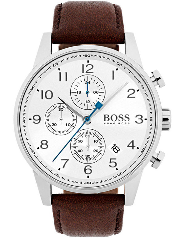 Hugo boss Navigator 1513495 Mens Chronograph Quartz Brown Watch