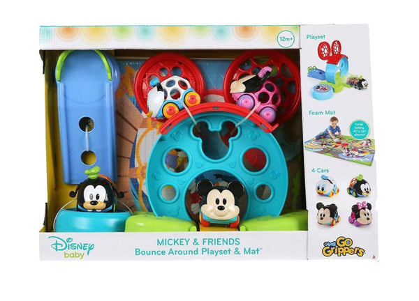 Disney Baby Go Grippers Bounce Around Playset & Mat