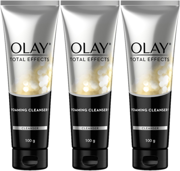 Olay Total Effects Foaming Cleanser 3 x 100ml
