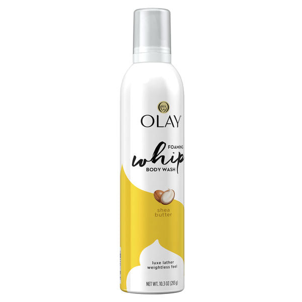 Olay Shea Butter Scent Foaming Whip Body Wash for Women 3 x 305ml