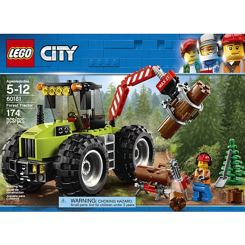 LEGO City Great Vehicles Forest Tractor