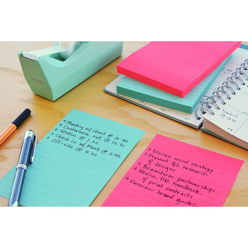 3M Post-it Lined Notes Cape Town 8 pads - 101mm x 152mm