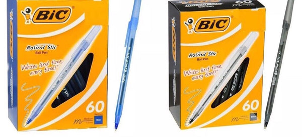 Bic Round Stic Pen 120 pack