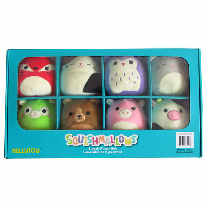 Squismallows 8 Pack Box Set